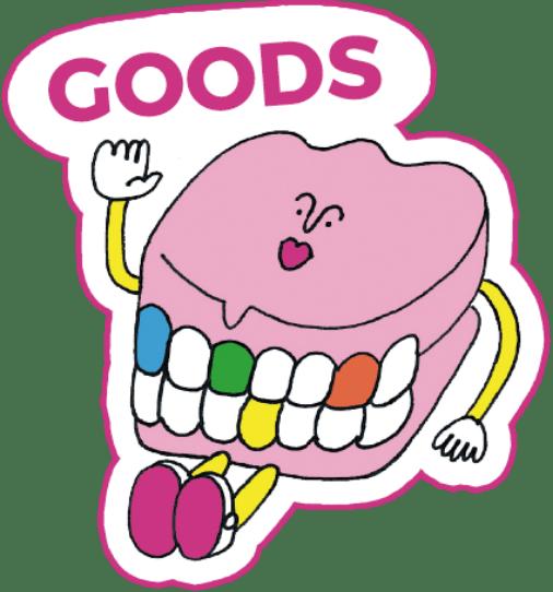 Goods character - POPPOP